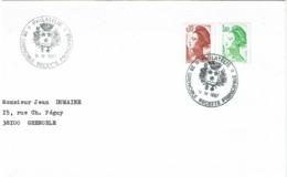 LCTN58/2 - OBL. PHIL. GRENOBLE 14/4/1987 - Briefmarkenausstellungen