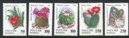 RUSSIA 1994 Cacti MNH / **.  Michel 363-67 - 1992-.... Federazione