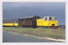 THEME TRAIN - GARE  - CHEMIN DE FER TOURIQTIQUE DE LA SEUDRE - SAUJON - Stations With Trains