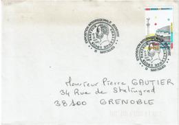 LCTN58/2 - EXPO.INTERR. JEUNESSE - CHALLENGE LOUIS PASTEUR OCTOBRE 1989 - Briefmarkenausstellungen