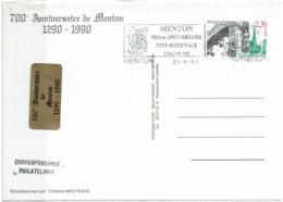 LCTN58/2 - MENTON 700° ANNIV. - Briefmarkenausstellungen