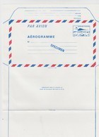 FRANCE - AEROGRAMME  SPECIMEN BLEU CONCORDE 3.10  / TBS - Ganzsachen