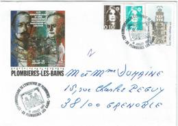LCTN58/2 - 135° ANNIV. ENTREVUE DE PLOMBIERES NAPOLEON III / CAVOUR - Briefmarkenausstellungen