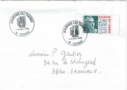 LCTN58/2 - JT  COGNAC 4/3/1995 - Tag Der Briefmarke