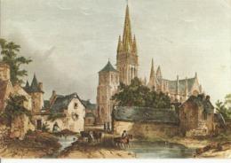 CPM, Th. Peinture , N°LC. 23, Lithographie  Bretagne Ancienne , Le Folgoet , Ed. D' Art Jos Le Doaré - Schilderijen