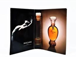 échantillons De Parfum  Tubes   FEMME  De ROCHAS  EDT  1.7 Ml - Campioncini Di Profumo (testers)