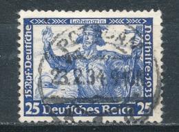 Deutsches Reich 506 A Gestempelt Geprüft Schlegel Mi. 50,- - Gebraucht
