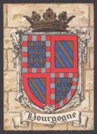 64700/ BOURGOGNE, Armoiries, Blason, Ed Barré & Dayez N° 1295 U - Bourgogne