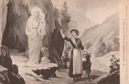 Carte Postale Ancienne Des Hautes-Alpes - Notre Dame Du Laus - Histoire De Sainte Benoîte - Autres Communes
