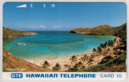 Tamura - Hanauma Bay - Card 10 - Silver Reverse - Mint - RARE - Voir Scans - Hawaï