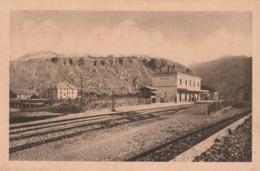 Carte Postale Ancienne Des Hautes-Alpes - Mont-Dauphin - La Gare Et Le Fort - Autres Communes