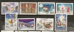 Finlande Finland Collection Noel Christmas Santa Claus Obl - Finland
