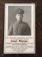 Sterbebild Wk1 Ww1 Bidprentje Avis Décès Deathcard RIR13 25. Juni 1916 Asu Senging - 1914-18