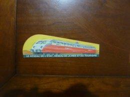 MARQUE PAGE ANCIEN: LE RESEAU DE L'ETAT - RESEAU DE LA MER ET DU TOURISME TBE BILLET REDUCTION - Bookmarks