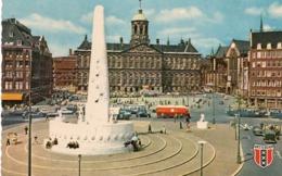 CT-03012- AMSTERDAM  DAM AVEC PALAIS ROYAL ET MONUMENT NATIONAL - Amsterdam