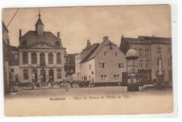 Andenne - Place Du Perron Et L'Hôtel De Ville - Andenne