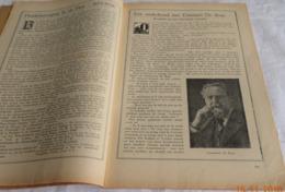 A0249[Tijdschrift] Toerisme 1928 Nummer 21 [Emmanuel De Bom, Met Portret Tekening / Verslag Toeristendag Aarschot] - Géographie & Histoire