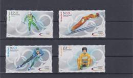 Germany 2002 Salt Lake City Olympic Games 4 Stamps MNH/** (H59) - Inverno2002: Salt Lake City