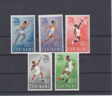 Suriname 1960 Rome Olympic Games 5 Stamps MNH/**  (H59) - Sommer 1960: Rom