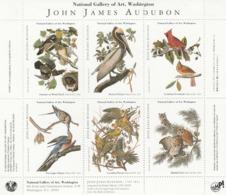 BLOC JOHN JAMES AUDUBON . PEINTRE ORNITHOLOGUE - Célébrités