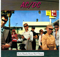 CD N°3382 - AC/DC- DIRTY DEEDS DONE DIRT CHEAP  - COMPILATION 9 TITRES - Hard Rock & Metal