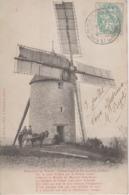 """CPA Précurseur Moulin à Vent - Gascogne Et Languedoc - """"Sur Le Riant Côteau ... Le Moulin Du Meunier Sans-Souci ..."""" - Non Classificati"""