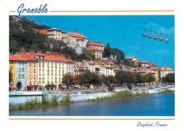 38 - Grenoble - Le Quartier Saint-Laurent, Sainte Marie D'en Haut, Le Téléphérique De La Bastille - Carte Neuve - Voir S - Grenoble