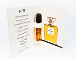 échantillons De Parfum  Tubes   N°5 De CHANEL EDP  De CHANEL  2 Ml - Campioncini Di Profumo (testers)