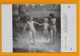 MEISJE-KIND-KINDEREN-GIRL:-NU-NUS-NUDE-SCHILDERIJEN-SALON 1912-A,CHARLET - Cuadros