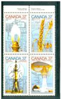 19/11 Vert2 Canada 1048/51 XX Sciences Et Technologie Ble Gaz Microbe Scanner Medecine - Unused Stamps