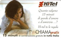 *CHIAMAGRATIS - N.101 - HI-TEL* - Scheda NUOVA (MINT) (DT) - Italie