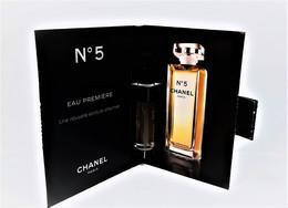 échantillons De Parfum  Tubes  N°5 EAU PREMIÈRE  EDP  De CHANEL   2 Ml - Campioncini Di Profumo (testers)