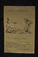 Tres Rare Dessin Pornographique Kultur Allemande Propagande Anti Allemande Kaiser Femme Nue Machine Sexe - 1914-18