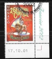 """Monaco;n°2319 O (avec Gomme D'origine ,tampon De Monaco) """"Cirque De Monté- Carlo """" (sous Faciale) - Zonder Classificatie"""