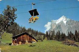 Switzerland Grindelwald Bergbahn Grindelwald-First Wetterhorn Cable Car - Suisse