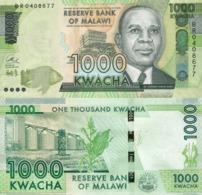 MALAWI 1000 Kwacha 2017 P 67 C UNC - Malawi