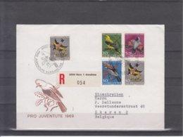 Helvetia / Pro Juventute 1969 - Uccelli