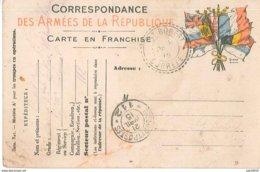 Carte En Franchise Datant De 1915 - Guerra 1914-18