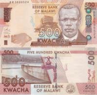 MALAWI 500 Kwacha 2017 P 66 B UNC - Malawi