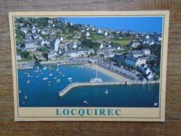 "Locquirec , Vue Générale """" Beau Timbre Roulette """" - Locquirec"