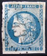 FRANCE                    N° 45 A                    OBLITERE - 1870 Emission De Bordeaux