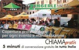*CHIAMAGRATIS - N.106 - ZINGERLE METAL* - Scheda NUOVA (MINT) (DT) - Italie