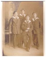 """MARINS DU  """"MARCEAU""""    TOULON  DECEMBRE 1913 - War, Military"""