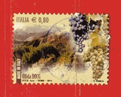 Italia- °-2014 - VINI - OFFIDA DOCG. .  Unif, 3586.  Usato. - 6. 1946-.. Repubblica