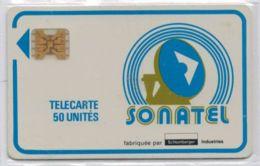 TRES RARE - SONATEL 50 Unités - Puce SC4 Ob Position Haute - Crédit épuisé - Voir Scans Et Description - Senegal
