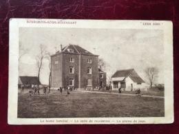 """BOURGEOIS-----cpa- """"Leur Abri""""--le Home Familial--la Salle De Récréation--la Plaine De Jeux-1922 - Rixensart"""