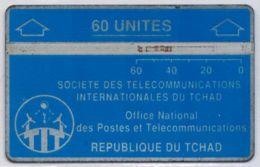 Holographique - 60 Unités Bleue - Sans Encoche (no Notch) - Lot 810B...  - Voir Scans - Tchad