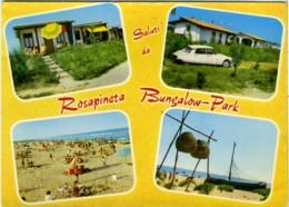ROSOLINA  ROVIGO  Saluti Da Rosapineta  Bungalow-Park  Vedutine  Auto Citroen Pallas DS - Rovigo