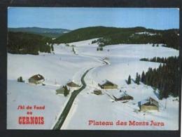 25  LE  CERNOIS... Superbe Vue Aerienne- Pateau Des Mont Jura - Francia