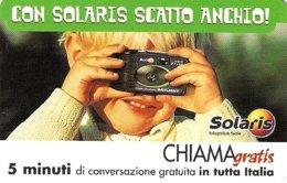 *CHIAMAGRATIS - N.111a - SOLARIS* - Scheda NUOVA (MINT) (DT) - Italia